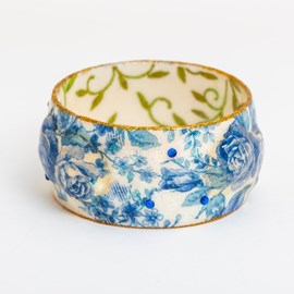 Armband Delftsblauw