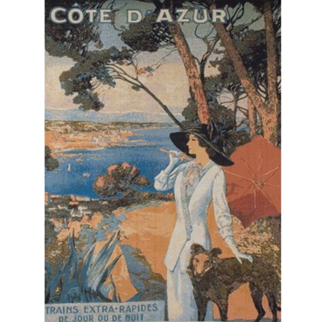 Wandkleed/Gobelin Cote d'Azur