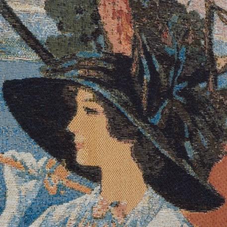 Detail Wandkleed/Gobelin Cote d'Azur