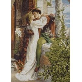 Wandkleed/Gobelin Romeo en Juliet