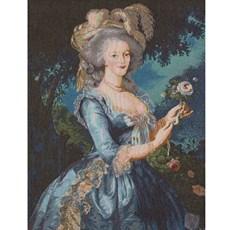 Wandkleed Marie Antoinette