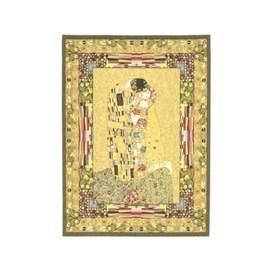 Wandkleed/Gobelin Klimt De Kus