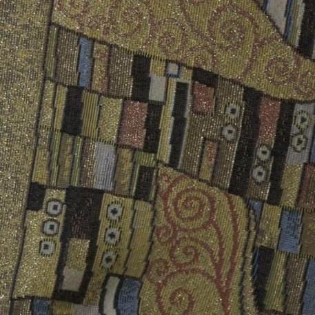 Detail Wandkleed/Gobelin Klimt De Kus