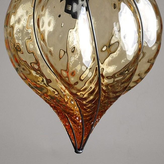 Detail Venetiaanse Hanglamp Middel Torsi