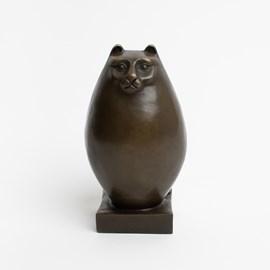 Art Deco Sculptuur Persian Cat
