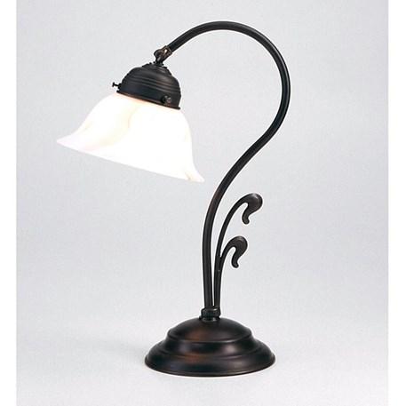 Tafellamp Flora in antiek