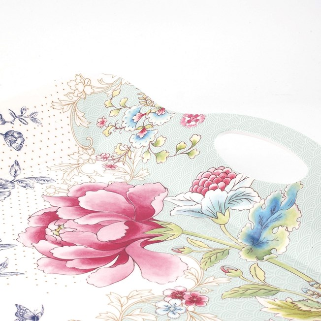 Detail Dienblad Chinoiserie