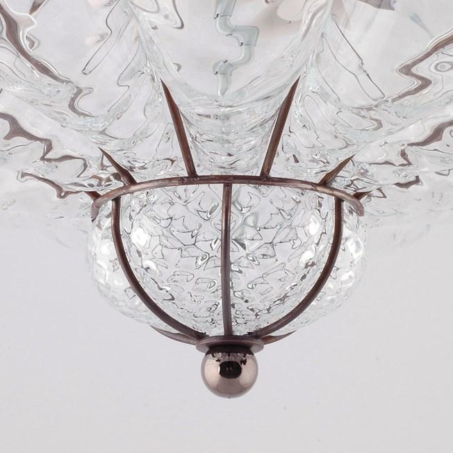 Detail Venetiaanse Plafonnière Sultano Helder