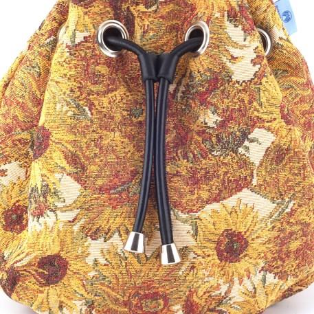 Detail Buideltas Zonnebloemen