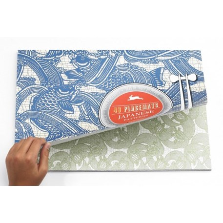 Placemat Blok Japanese Patterns