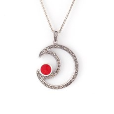 Collier Red Moon