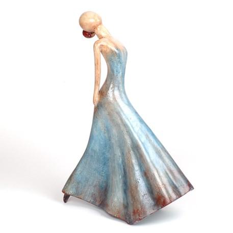 Sculptuur Ballerina in pose