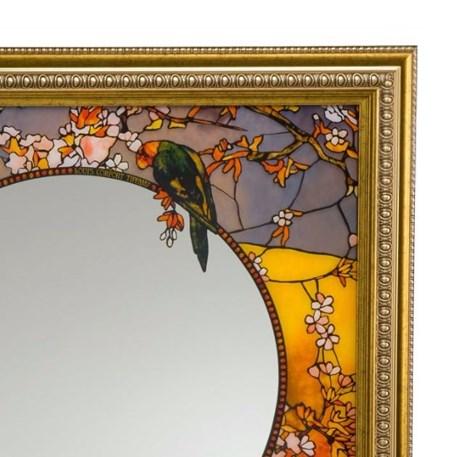Spiegel Tiffany Papegaaien