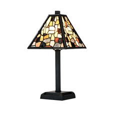 Tiffany kleine Tafellamp Fallingwater