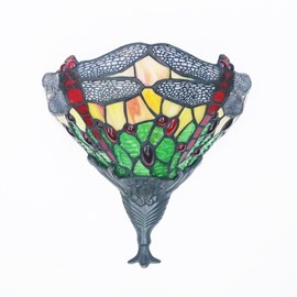 Wandlamp Libel Groen