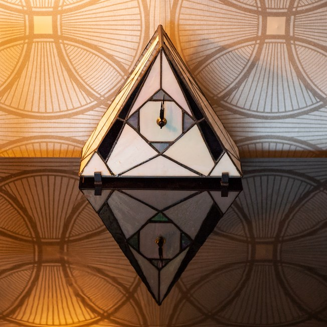 Tiffany Klok / Tafellamp  French Art Deco