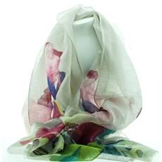 Sjaal Aquarel Tulipe