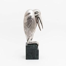 Sculptuur Maraboe Zilver