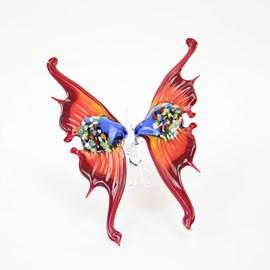 Glazen Vlinder rood