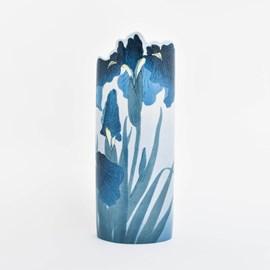 Vaas Koson 'Blue Irises'