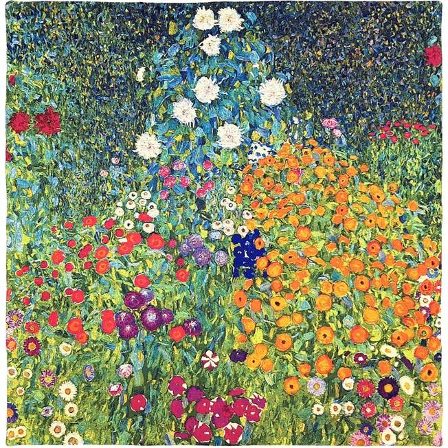 Wandtapijt Klimt Flower Garden