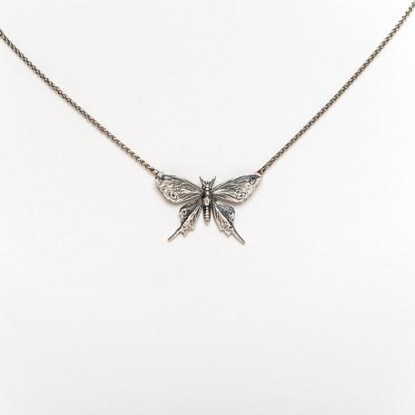 Collier Zilveren Vlinder Yasmin
