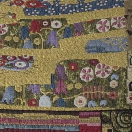 Detail Wandkleed/Gobelin Klimt De Levensboom