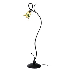 Tiffany Vloerlamp Lovely Flower Yellow
