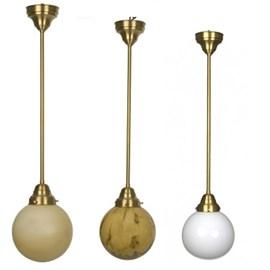 Hanglamp Bol in 3 kleuren en div. afmetingen