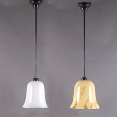 Hanglamp Tulp Opaal en Marmer