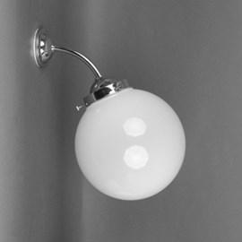 Buiten/ Grote Badkamer Wandlamp Bol Ø 20 Breukvrij