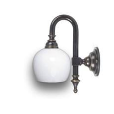 Badkamerlamp Douche Kleine Boog (glas past net wel / net niet)