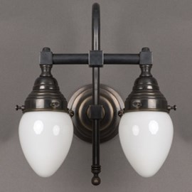 Badkamerlamp Egg 2-Lichts Grote Boog