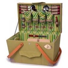 Picknick Koffer Compleet voor 4 personen