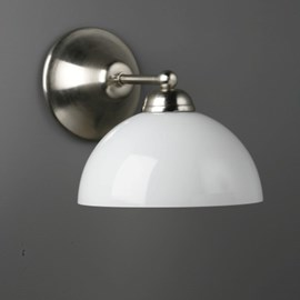 Wandlamp halve bol