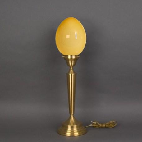 Tafellamp Egg Zachtgeel