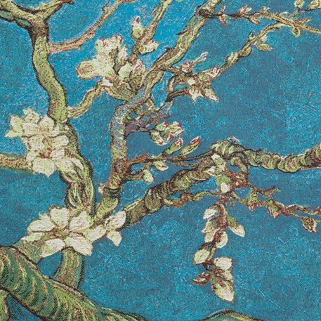 Detail Wandkleed Amandelbloesem