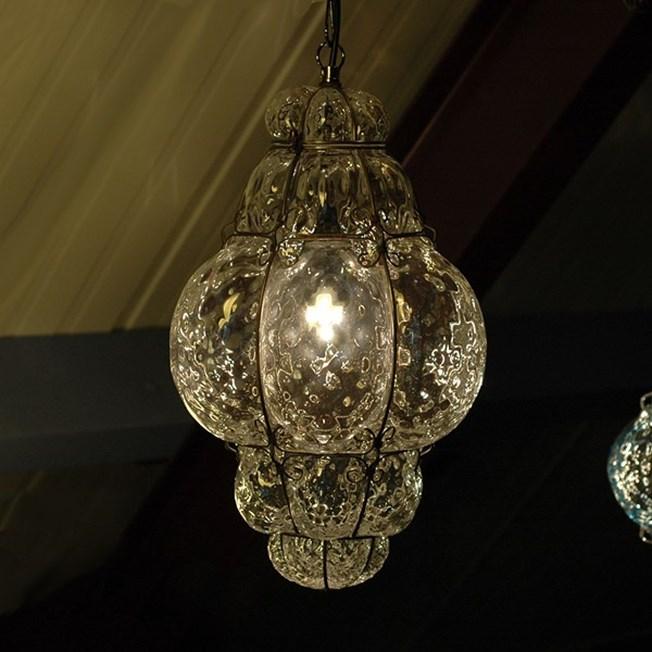 Sfeerimpressie Venetiaanse Hanglamp Middel Bellezza