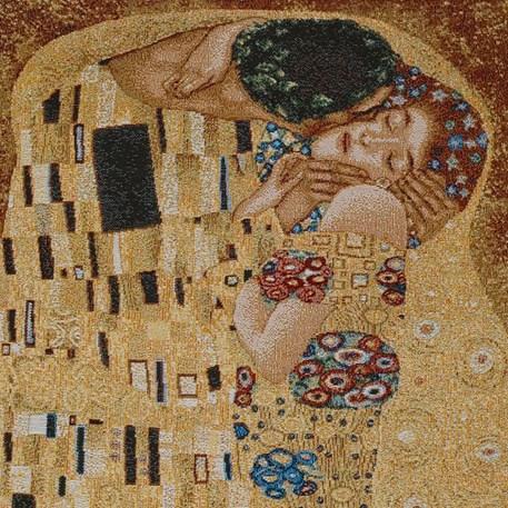 Detail Wandtapijt De Kus
