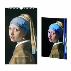 Verjaardagskalender & Notitieboek Johannes Vermeer