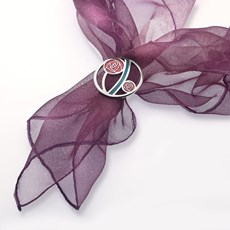 Sjaalring Mackintosh Roses