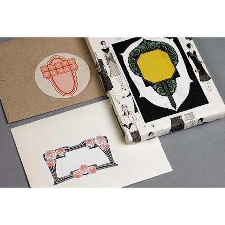 Label & Sticker Book Art Nouveau