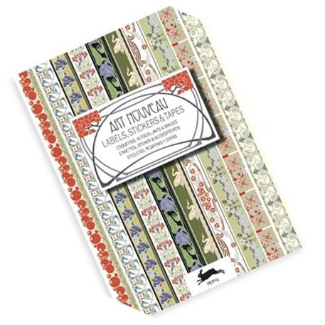 Art Nouveau Label & Sticker boek