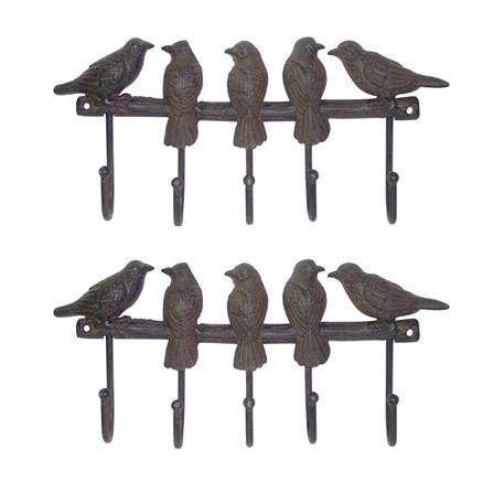 Set (2 x) Kapstok Birds