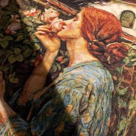 Wandtapijt The Soul of the Rose   John William Waterhouse