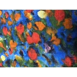 Sjaal Klimt 'Bloemen in Veld'