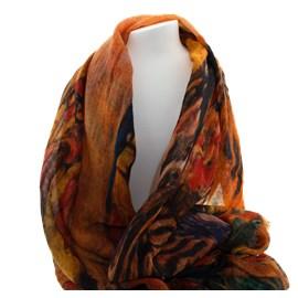 Sjaal Klimt Kleurrijk